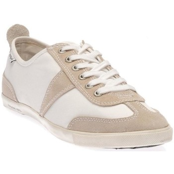 Baskets basses People'Swalk Grant s/polycanvas Blanc