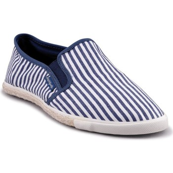 Chaussures Homme Slips on People'Swalk Baskets bleu