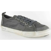 Chaussures Homme Baskets basses People'Swalk Fly suede polycanvas Gris