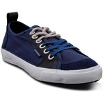 Baskets basses People'Swalk Fly rubber/combo Bleu