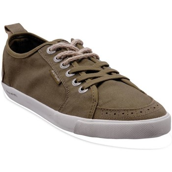Chaussures Homme Baskets basses People'Swalk Fly suede polycanvas Vert