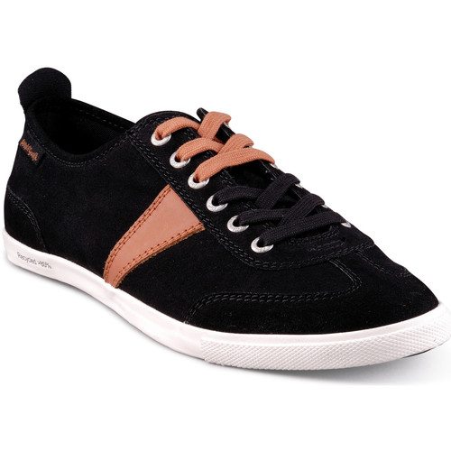 Chaussures Homme Baskets basses People'Swalk Basket Noir