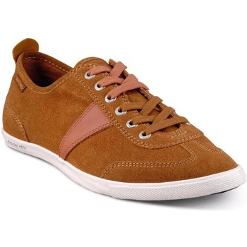 Chaussures Homme Baskets basses People'Swalk Basket Marron
