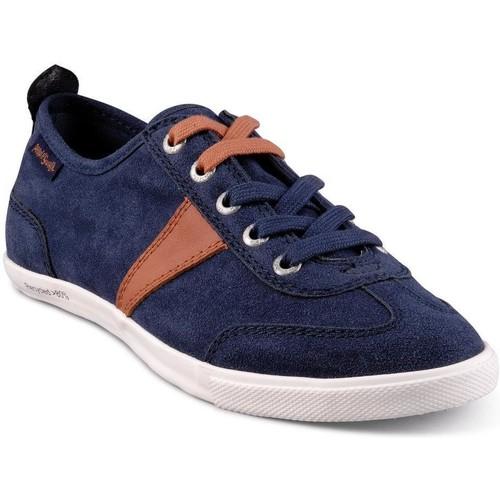 Chaussures Homme Baskets basses People'Swalk Basket bleu