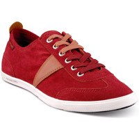 Chaussures Homme Baskets basses People'Swalk Basket rouge
