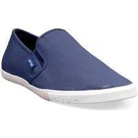 Slips on People'Swalk Ruffle 0409m Bleu