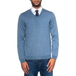Vêtements Homme Pulls Hugo Boss BARAM-50373736471 celeste