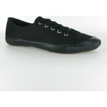 Chaussures Femme Baskets basses People'Swalk Game pure cotton Noir