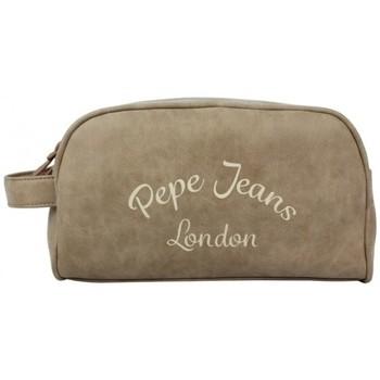 Sacs Vanity Pepe jeans Trousse de toilette effet peau de pêche  733445 Beige
