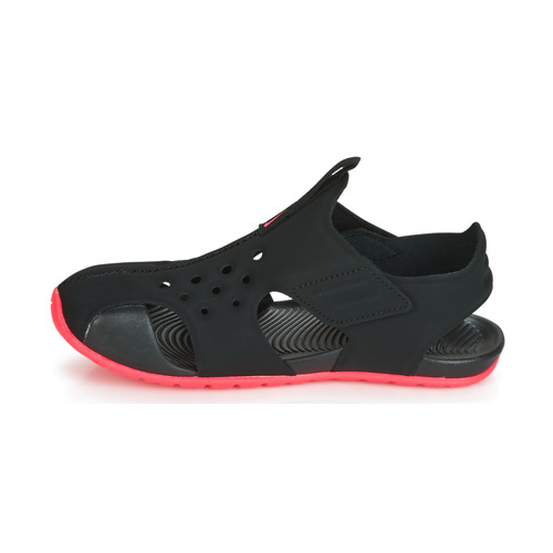 2 Ps pieds Protect NoirRose Et Nu Nike Chaussures Sunray Fille Sandales CxtQBrsdh