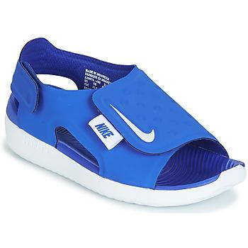 Chaussures Garçon Sandales et Nu-pieds Nike SUNRAY ADJUST 5 Bleu