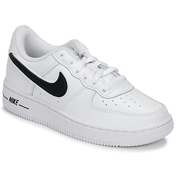 air force one blanche signe noir femme
