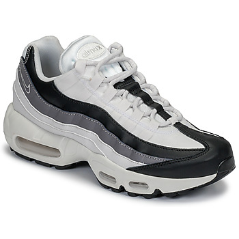 new style c151a 5570a Chaussures Femme Baskets basses Nike AIR MAX 95 W Blanc   Noir