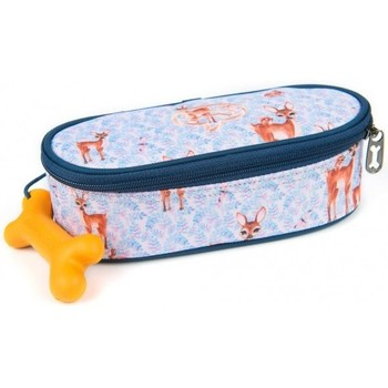 Sacs Enfant Trousses Stones and Bones Trousse plumier  motif Bambi rose bleu Multicolor