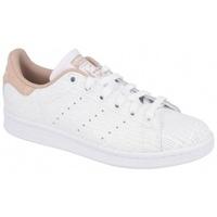 Chaussures Femme Multisport adidas Originals STAN SMITH FTWR   ASH PEARL beige