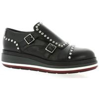 Chaussures Femme Derbies Pao Derby cuir Noir