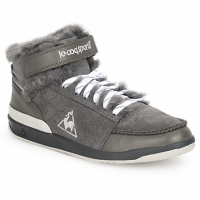 Chaussures Femme Baskets montantes Le Coq Sportif DIAMOND LAMMY ADD Taupe