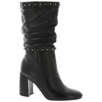 Chaussures Femme Bottes Bruno Premi Mi-bottes cuir Noir