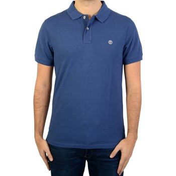 Vêtements Homme Polos manches courtes Timberland Polo SS Millers RVR Bleu