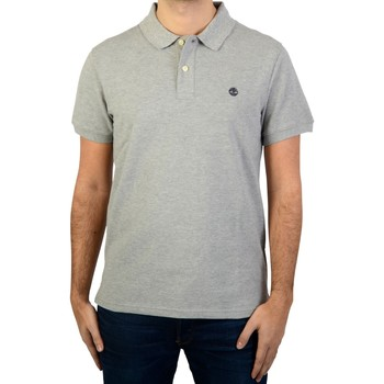 Vêtements Homme Polos manches courtes Timberland Polo SS Millers RVR Gris