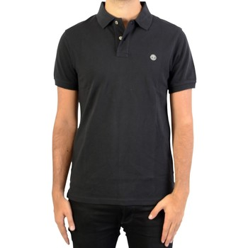 Vêtements Homme Polos manches courtes Timberland Polo SS Millers RVR Noir